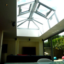 Glass Box Extension Interior