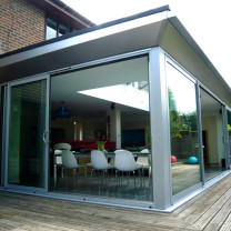 Glass Box Extension Exterior